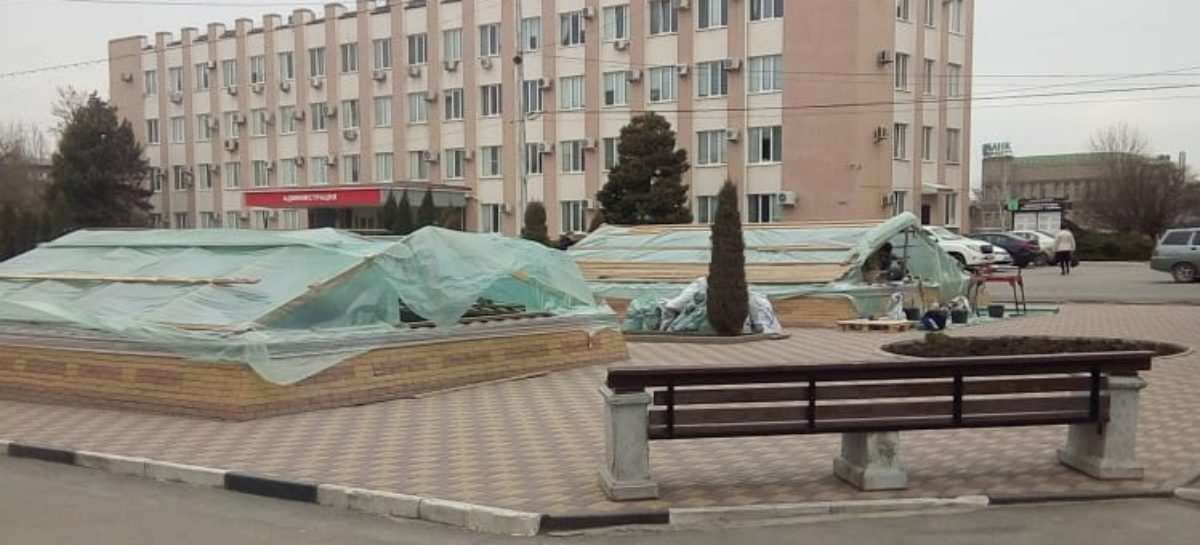 К сезону – заработают: на площади Ленина отремонтируют фонтаны