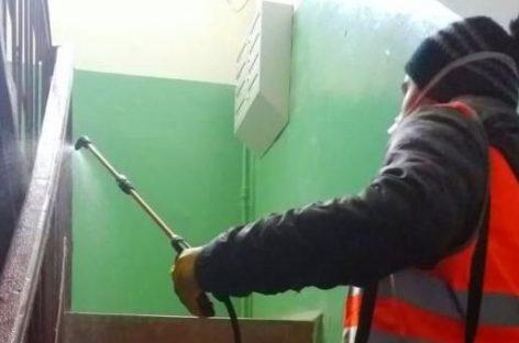 Готовы ли управляющие компании обеспечить чистоту в подъездах домов Сальского района в период угрозы заражения коронавирусом?