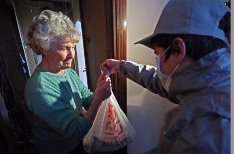 В Сальском районе во время карантина соцслужба поможет пожилым в доставке продуктов