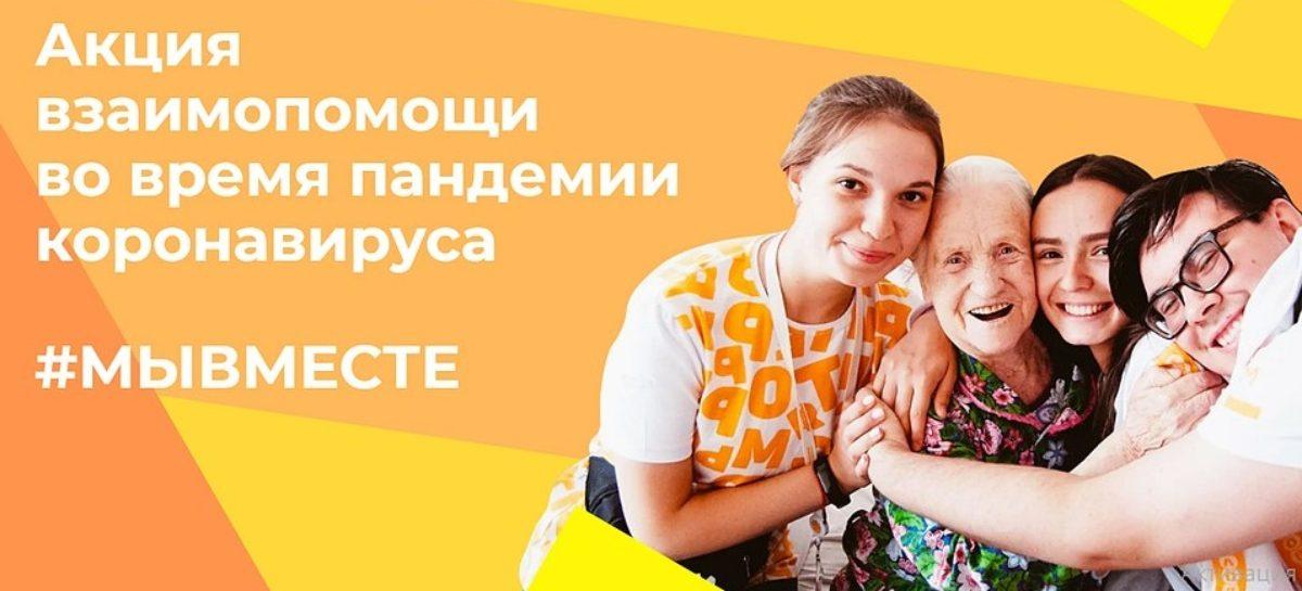 #МыВместе: сальчан приглашают присоединиться к всероссийской акции
