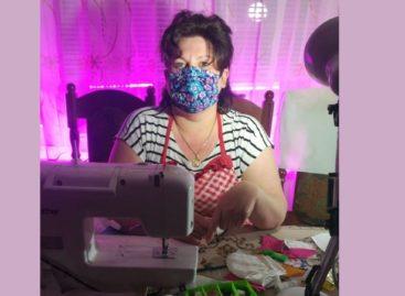 Поисковики продолжают волонтёрскую акцию по обеспечению защитными масками представителей старшего поколения