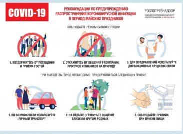 Как не подвергнуть себя и близких риску заражения коронавирусом в праздничные дни?