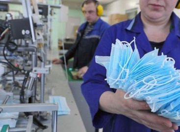 На Дону увеличен объем производства медицинских масок