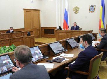 Общий объем выпуска немедицинских масок в Ростовской области может вырасти до 120 тысяч в сутки