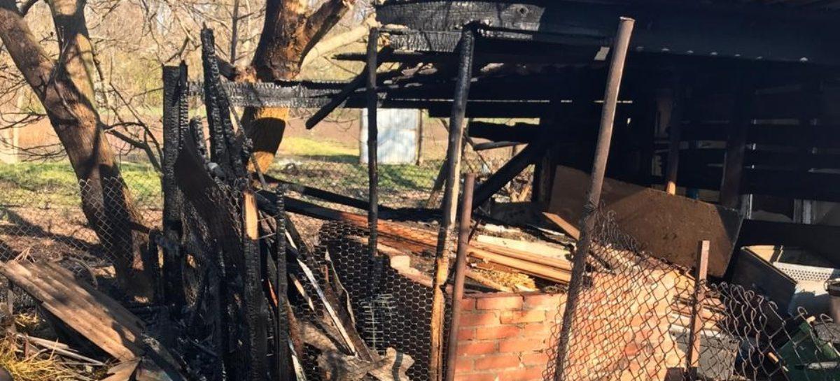 Два пожара случились по непонятным причинам в Сальском районе