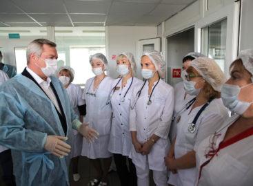 Работающих с COVID-19 сальских медиков обеспечат питанием за счёт облбюджета