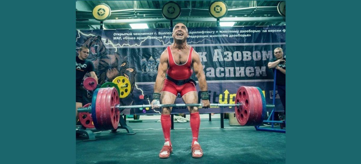 Сальский силач стал лучшим на соревнованиях в Ростове