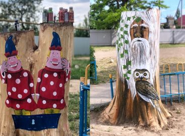 Сальчанка подарила детям из реабилитационного центра сказку во дворе
