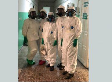 Госпиталь для больных covid-19 в Сальске: прошел первый месяц работы