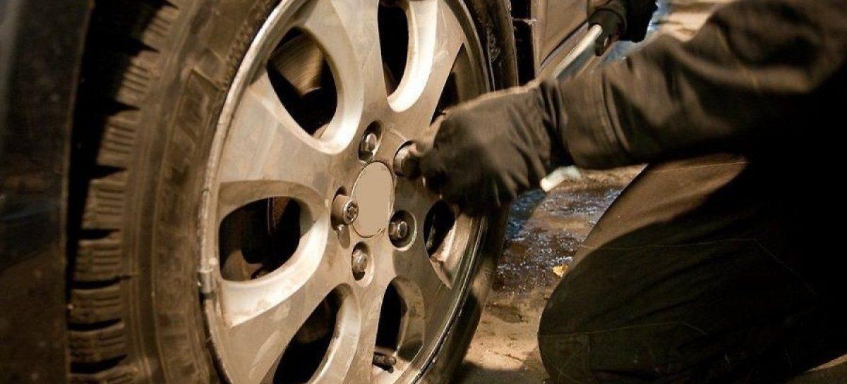 В Сальске нашли похитителя дисков и колёс, им оказался 18-летний парень