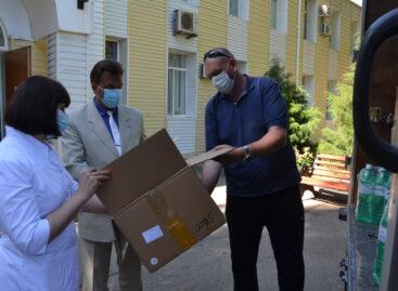 Сальская больница получила гуманитарную помощь для госпиталя