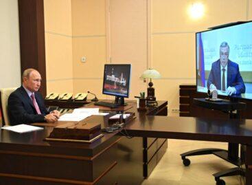 Президент поддержал выдвижение Василия Голубева на предстоящих выборах донского губернатора