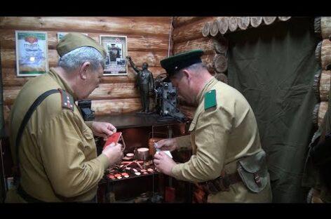 Сальчане восстанавливают фронтовую технику и оборудовали «землянку» и «бункер»