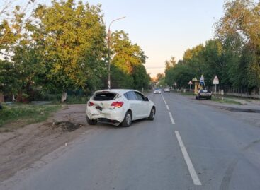 В Сальске подвыпивший водитель иномарки спровоцировал аварию