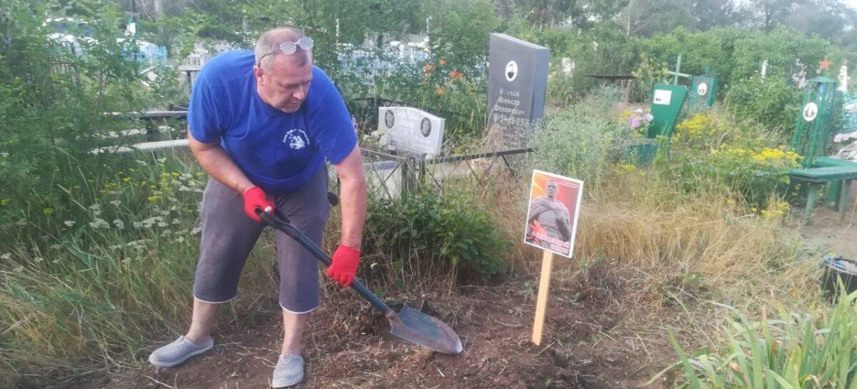 Сальские поисковики обозначили госпитальные захоронения времён Великой Отечественной войны на старом кладбище