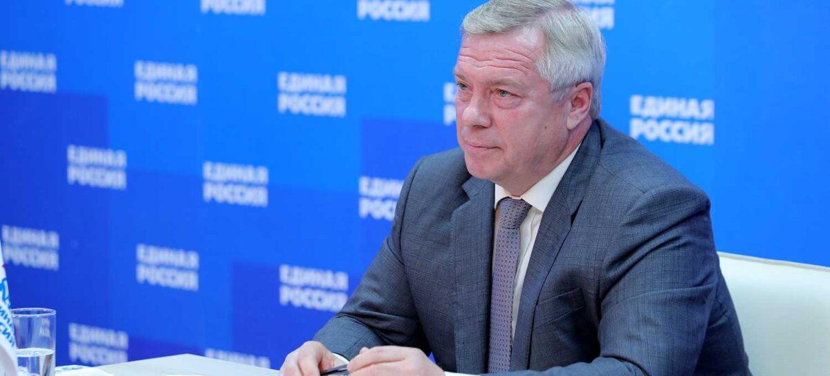 Президиум генсовета «Единой России» рекомендовал выдвинуть Василия Голубева кандидатом в губернаторы Дона