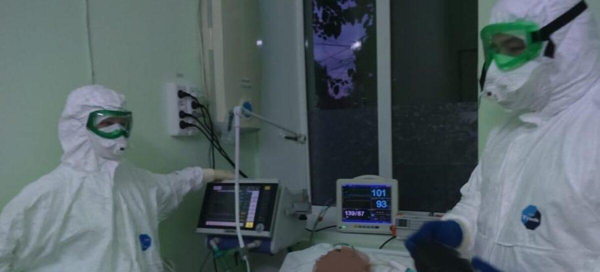На передовой: кто трудится в ковидном госпитале в Сальске