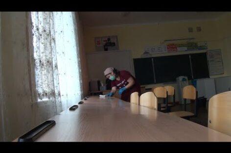 Как живет на каникулах школа № 80 в Конезаводе им. Буденного