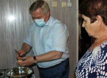 В дома жителей отдаленных хуторов Дона пришло голубое топливо