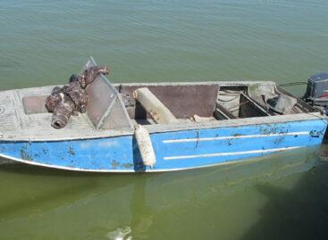 В акватории Веселовского водохранилища сотрудники транспортной полиции пресекли незаконный вылов биоресурсов