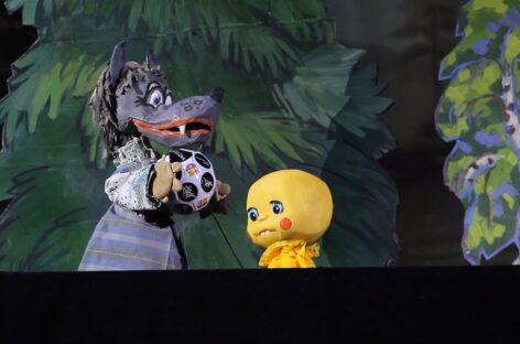 Народный театр кукол «Изумруд» городского Дворца культуры Сальска подготовил подарок ко Дню Знаний