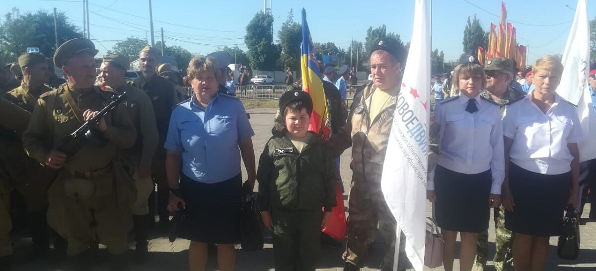 Сальчане посетили церемонию торжественного открытия мемориала «Самбекские высоты» в Неклиновском районе