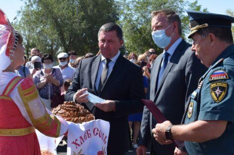 В Юловском сельском поселении открыли новую пожарную часть