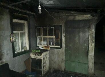 Сальчанин курил под навесом, а после случился пожар