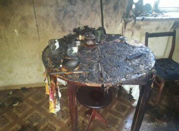 Сальчанин хотел попить чайку, да чуть было не сгорел