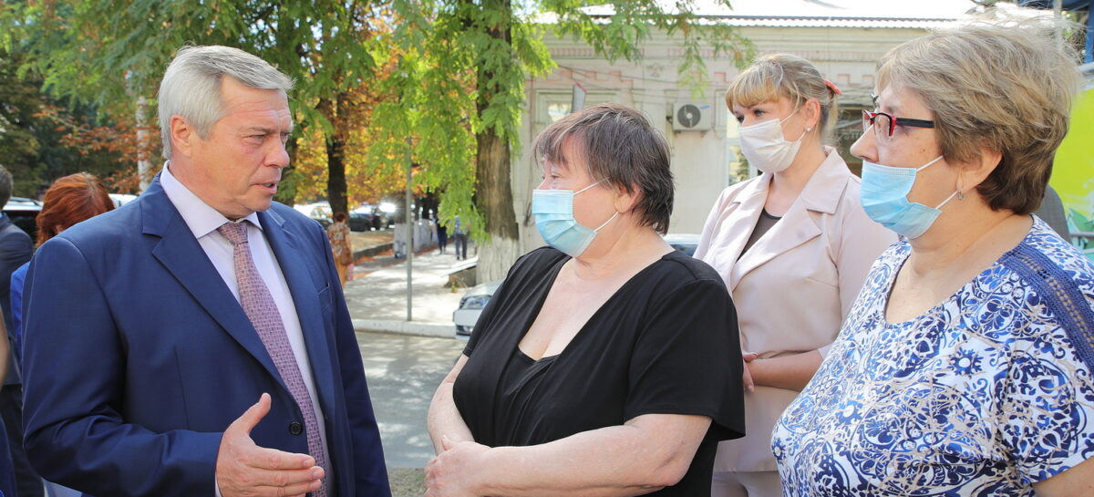 Губернатор провел инспекцию в столице донского казачества Новочеркасске