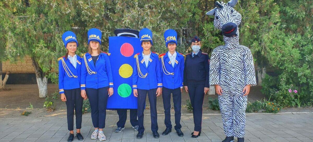 Второклашки школы № 7 научились правилам дорожного движения для пешеходов