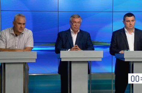 Глава Ростовской области: «Я должен быть там, где люди»