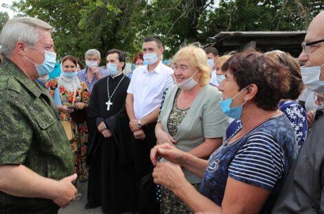 Пострадавшим во время пожара в Тарасовском районе обещают выплатить до 100 тысяч рублей