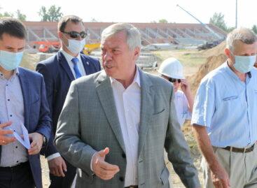 В Шахтах глава Дона взял под контроль строительство социально значимых объектов