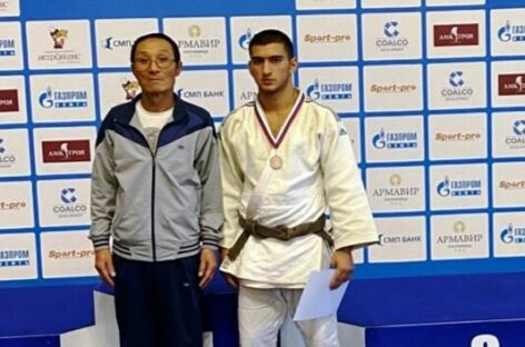 Сальский дзюдоист завоевал «бронзу» первенства ЮФО