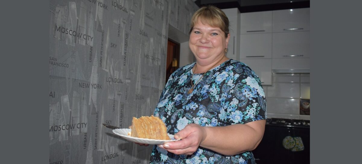 Многодетная мама Ольга Ефимкина отмечает праздник