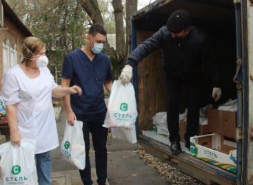 Агрохолдинг «Степь» поддержал сальских медиков