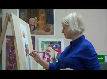 Сальская художница создала серию акварельных этюдов