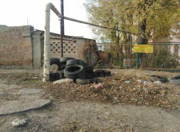 Более 5,5 тонны отработанной аврорезины вывезено с улиц Сальска