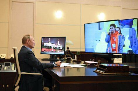 Владимир Путин: «Доброта — это талант, который нужно поддерживать в каждом»