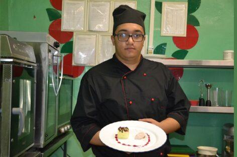 Юный повар из Сальска знает, как приготовить вкусный «Храм воздуха»
