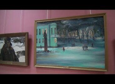 В сальский музей пришла зима