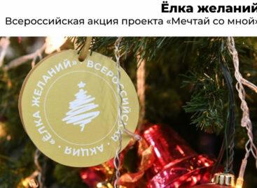 Сальчан приглашают присоединиться ко Всероссийской акции «Елка желаний»