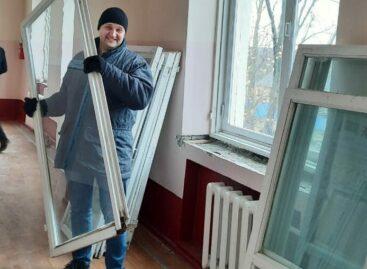 В школе № 5 в Сальске пришло время ремонта
