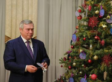 Василий Голубев присоединился ко Всероссийской акции «Елка желаний»