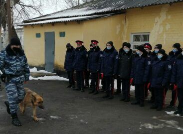 К транспортным полицейским в Сальск прибыл «Студенческий десант»