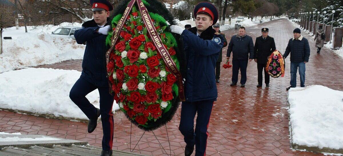 В Сальске отметили годовщину освобождения Сальского района от немецко-фашистских захватчиков