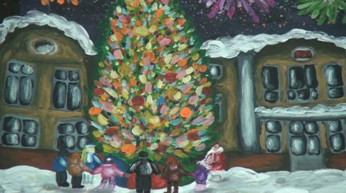 Елки-модели, рождественские ангелы: в сальской ДХШ работает выставка «Зимняя сказка»