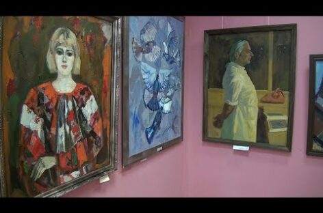 Кавказские пейзажи, Маша в красном сарафане: коллекция музея пополнилась новыми работами ростовских и сальских художников
