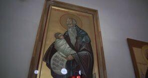 В соборе Кирилла и Мефодия появилась редкая икона Стилиана Пафлагонского: приобрели ее на средства прихожан